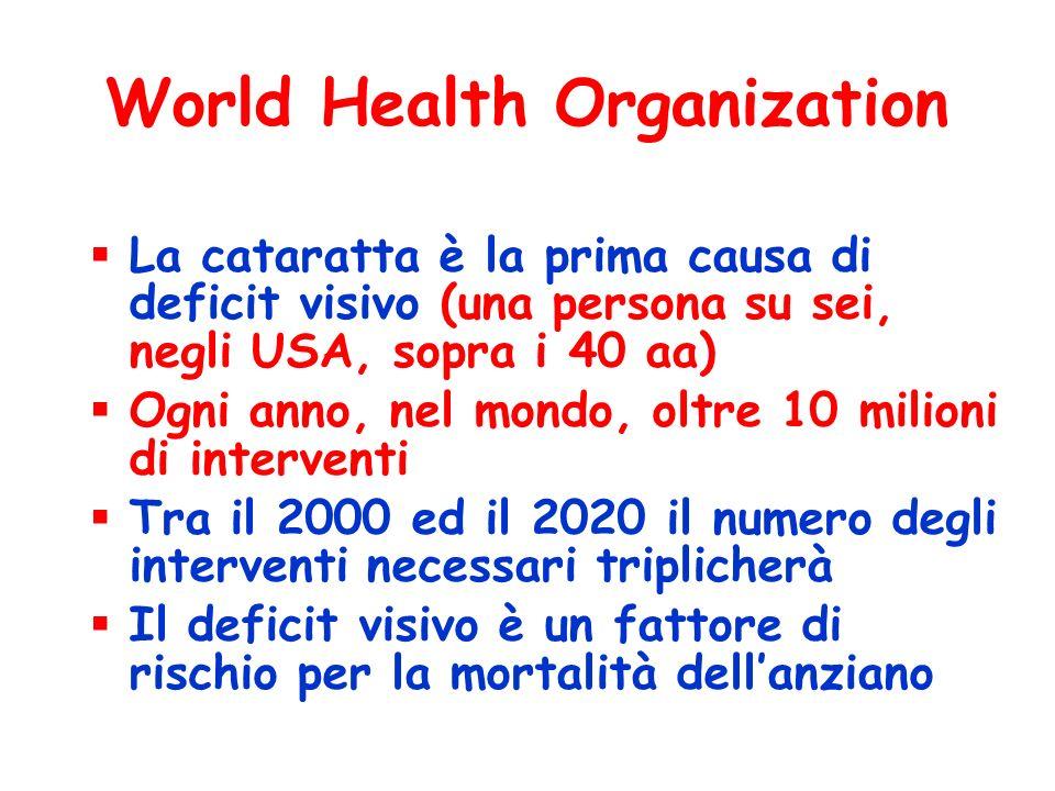 World Health Organization