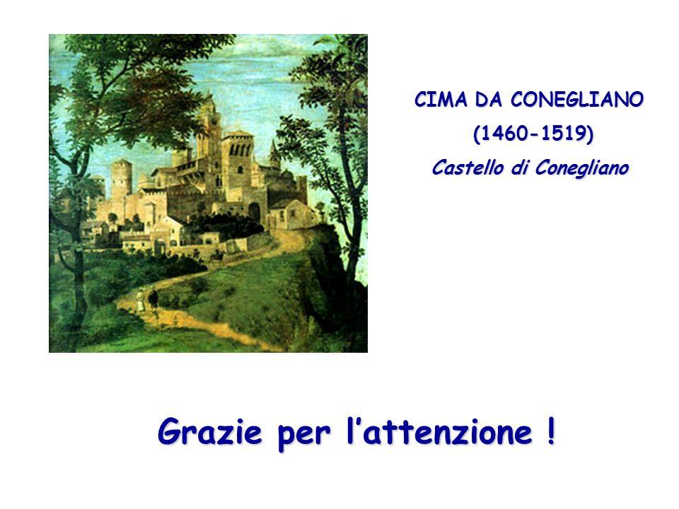 Castello di Conegliano Grazie per l'attenzione !