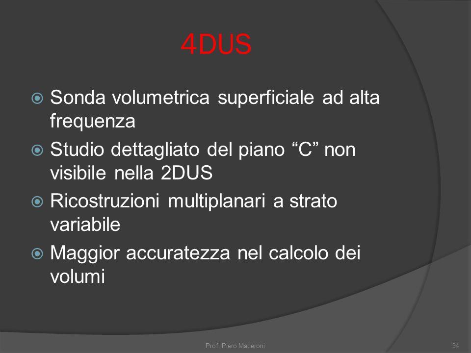 4DUS Sonda volumetrica superficiale ad alta frequenza