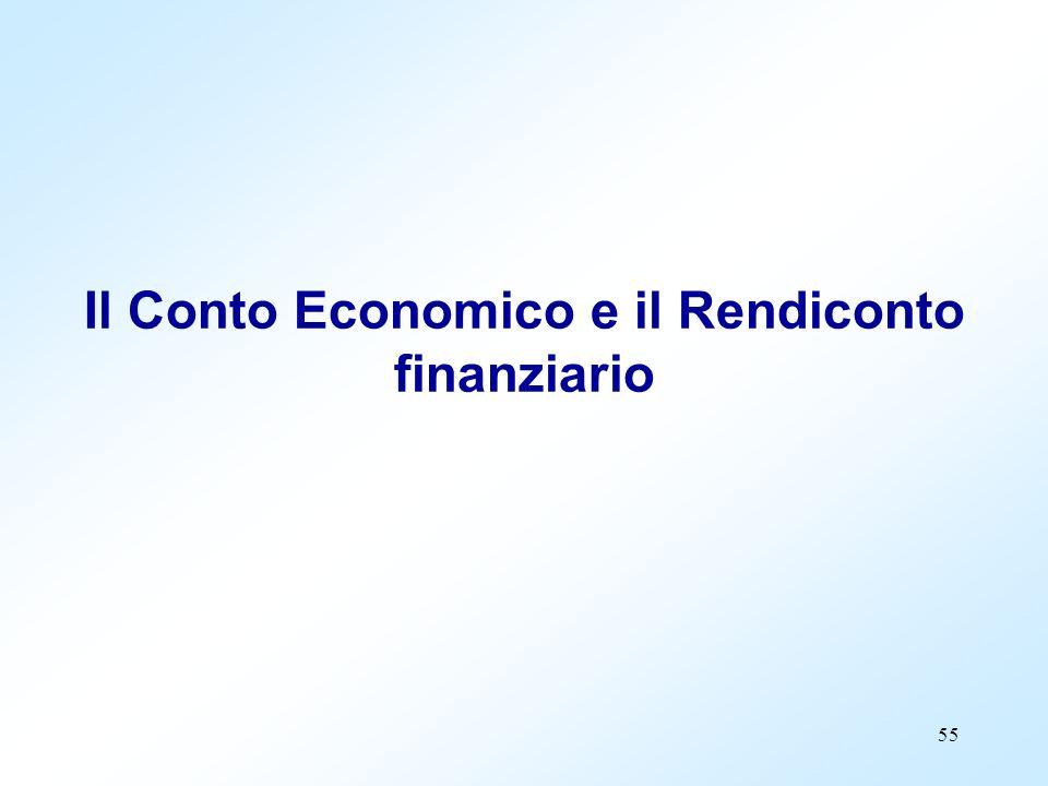 Il Conto Economico e il Rendiconto finanziario