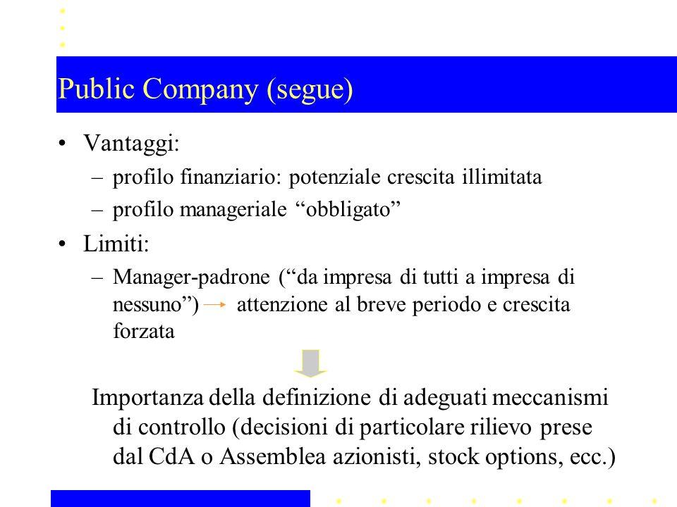 Public Company (segue)