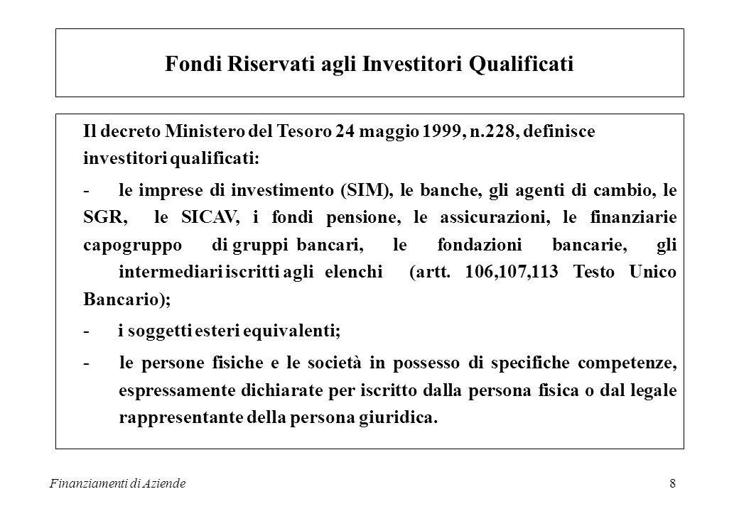 Fondi Riservati agli Investitori Qualificati
