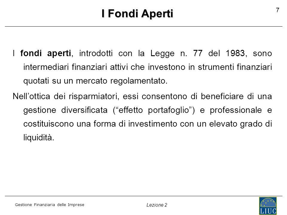 I Fondi Aperti 7.
