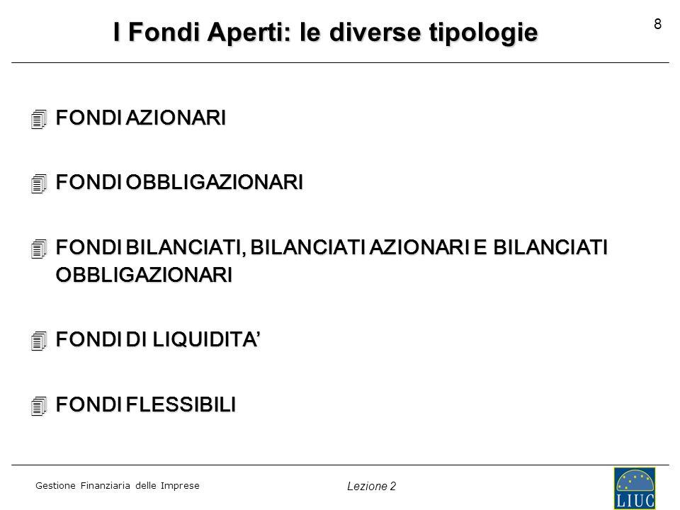 I Fondi Aperti: le diverse tipologie