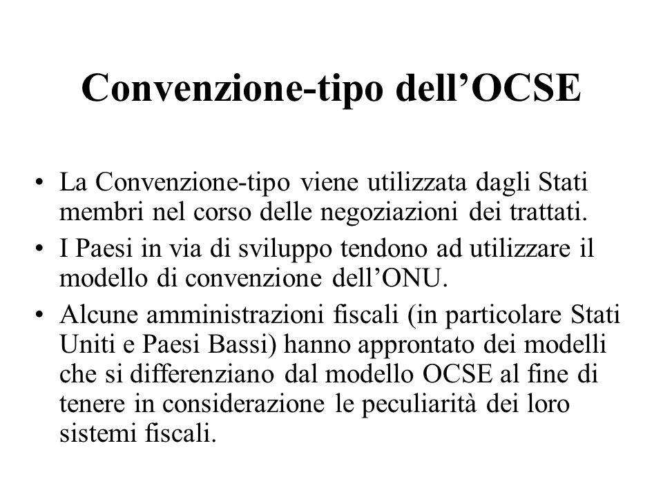 Convenzione-tipo dell'OCSE