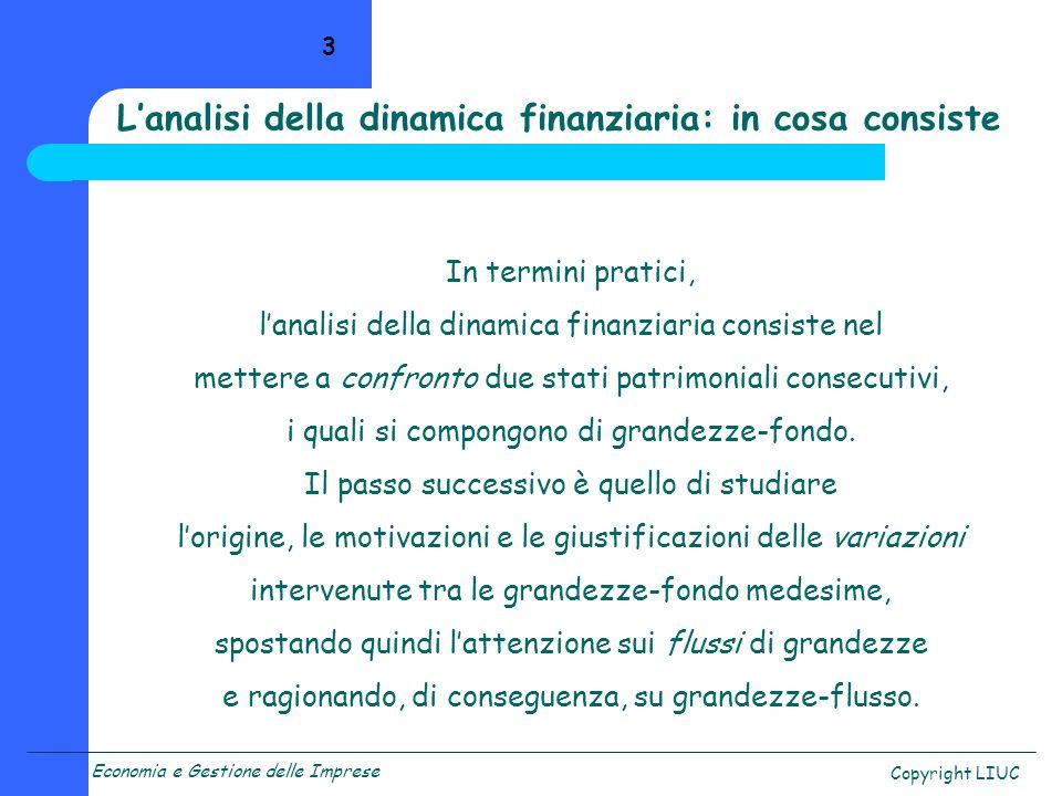 L'analisi della dinamica finanziaria: in cosa consiste