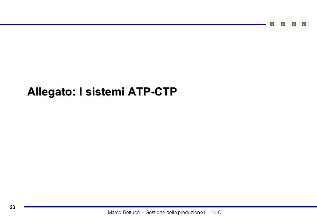 Allegato: I sistemi ATP-CTP