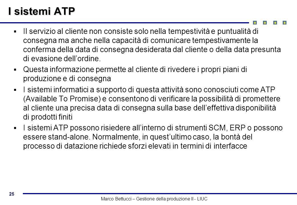 I sistemi ATP