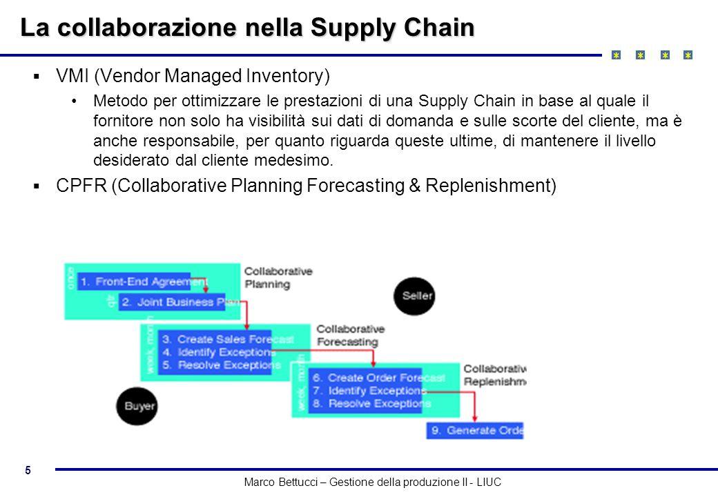La collaborazione nella Supply Chain