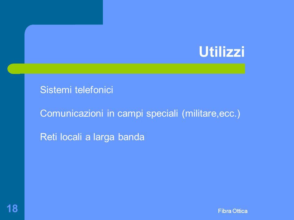 Utilizzi Sistemi telefonici