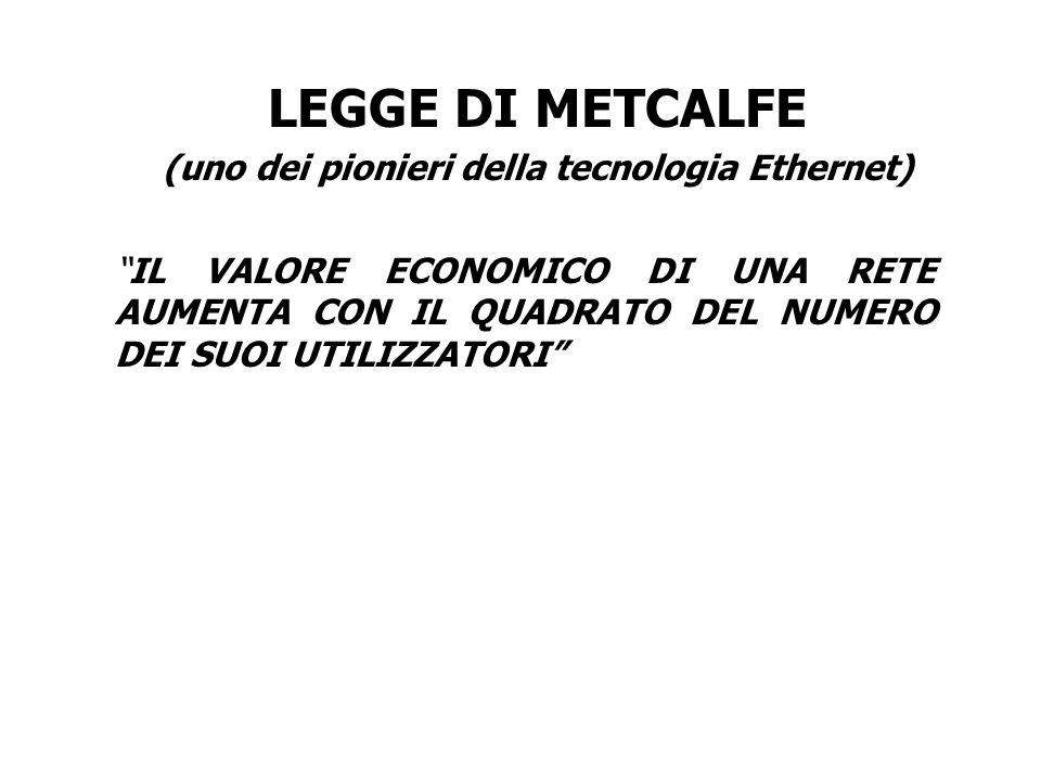 (uno dei pionieri della tecnologia Ethernet)