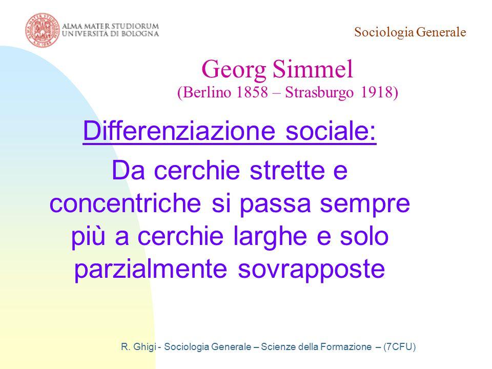 Differenziazione sociale: