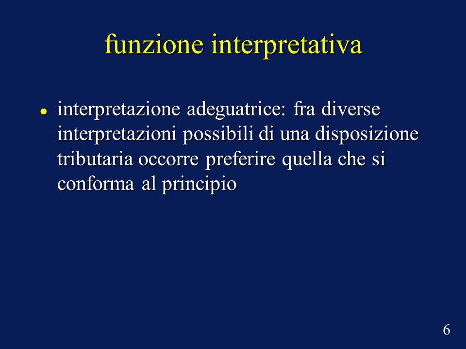 funzione interpretativa