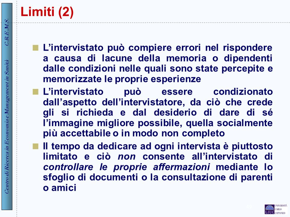 Limiti (2)