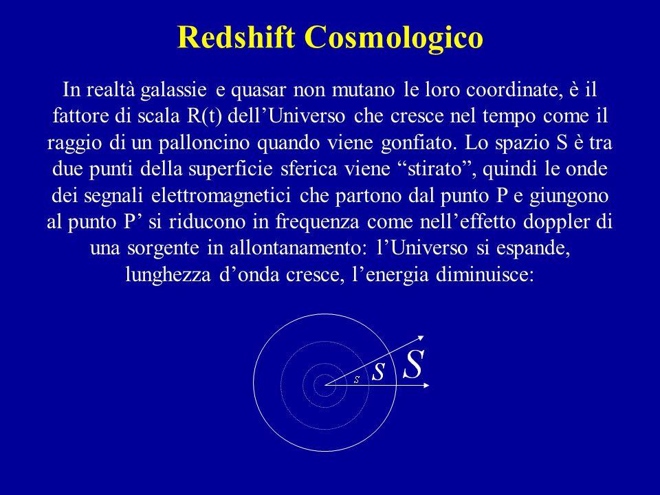 Redshift Cosmologico