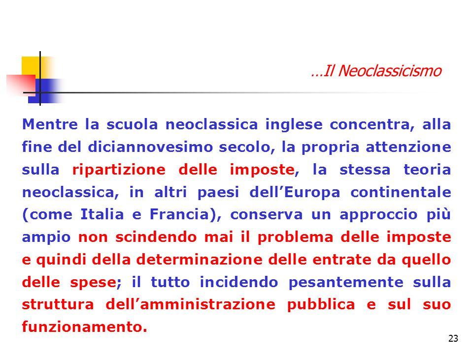 …Il Neoclassicismo