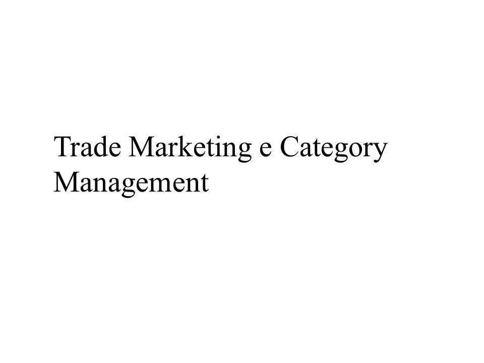 Trade Marketing e Category Management