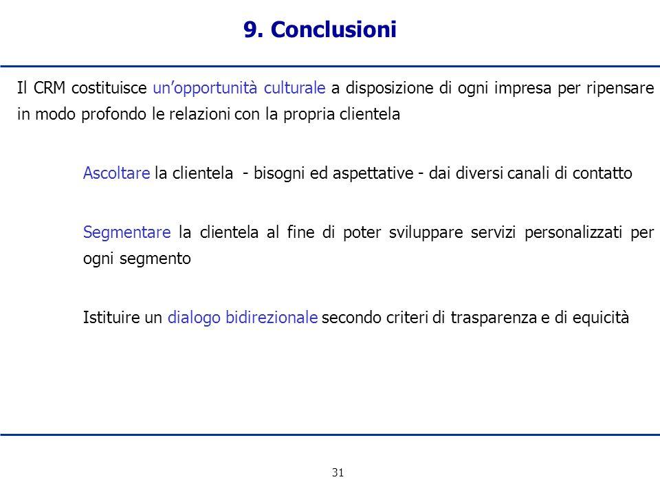 9. Conclusioni