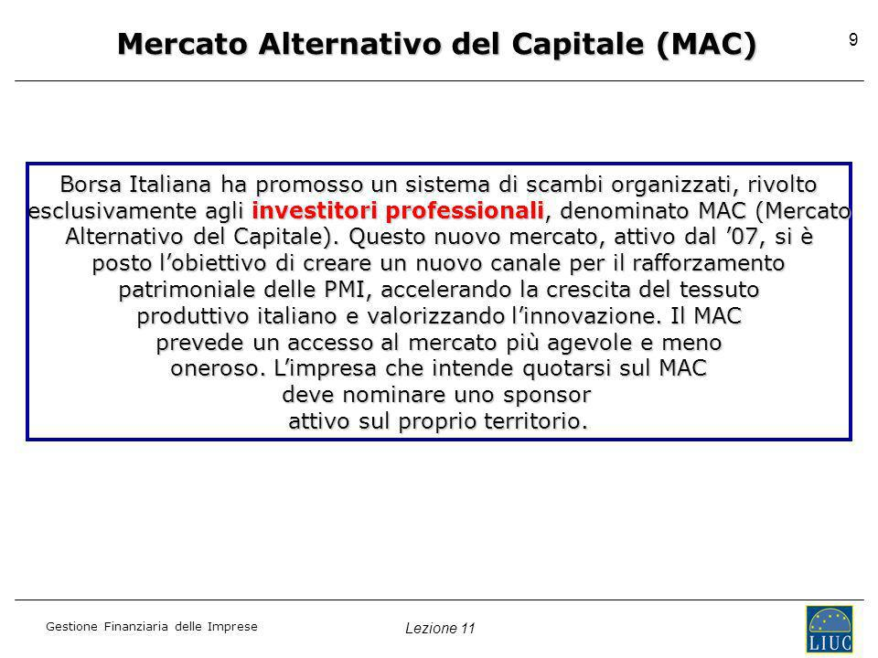 Mercato Alternativo del Capitale (MAC)