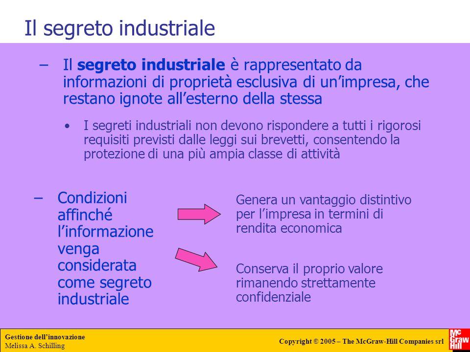 Il segreto industriale