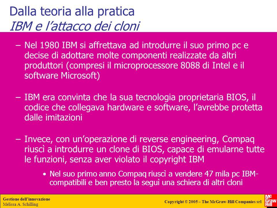 Dalla teoria alla pratica IBM e l'attacco dei cloni