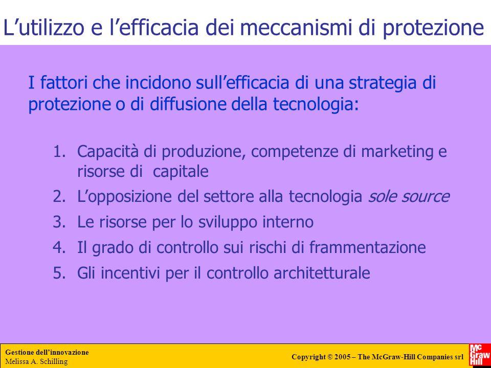 L'utilizzo e l'efficacia dei meccanismi di protezione
