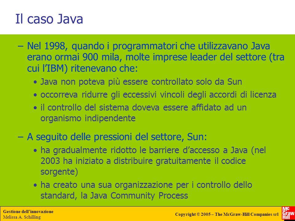 Il caso Java
