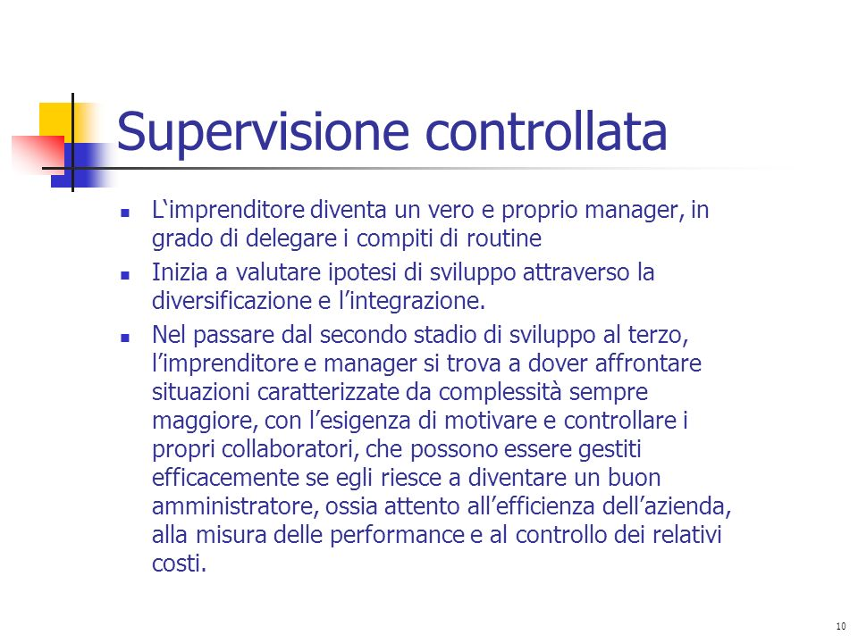 Supervisione controllata