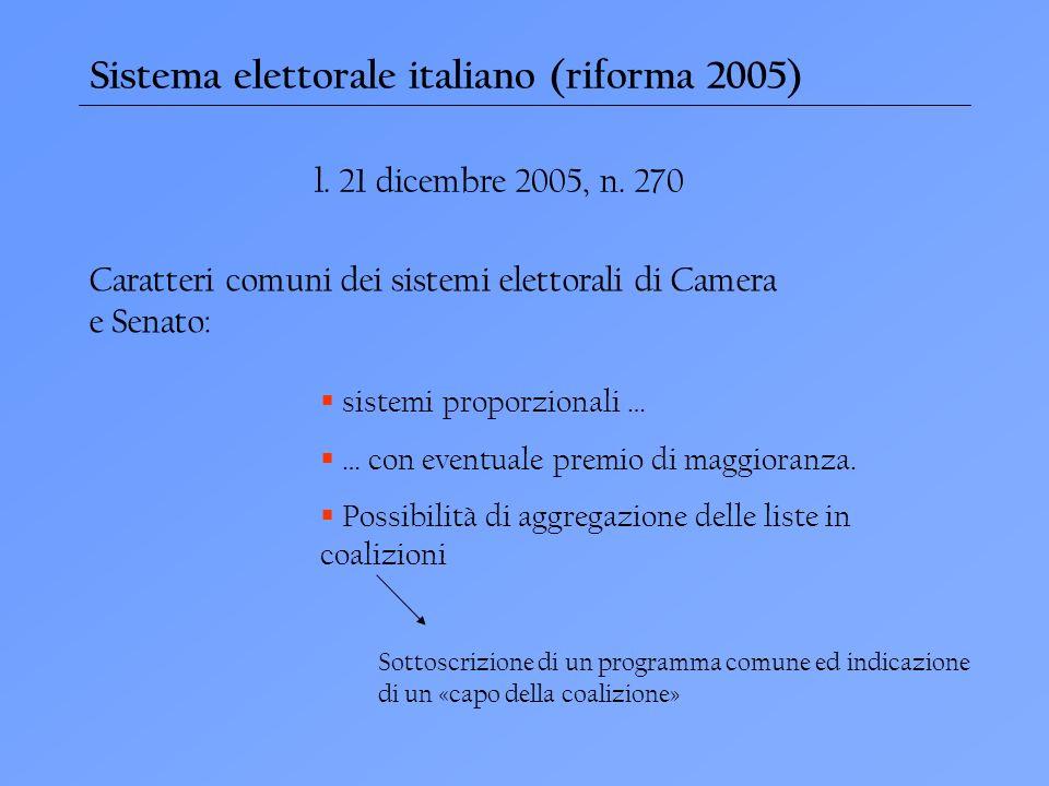 Sistema elettorale italiano (riforma 2005)