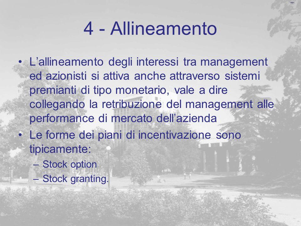 4 - Allineamento