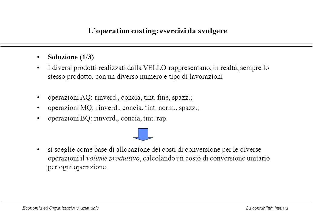 La contabilita interna ppt scaricare for Conversione are mq