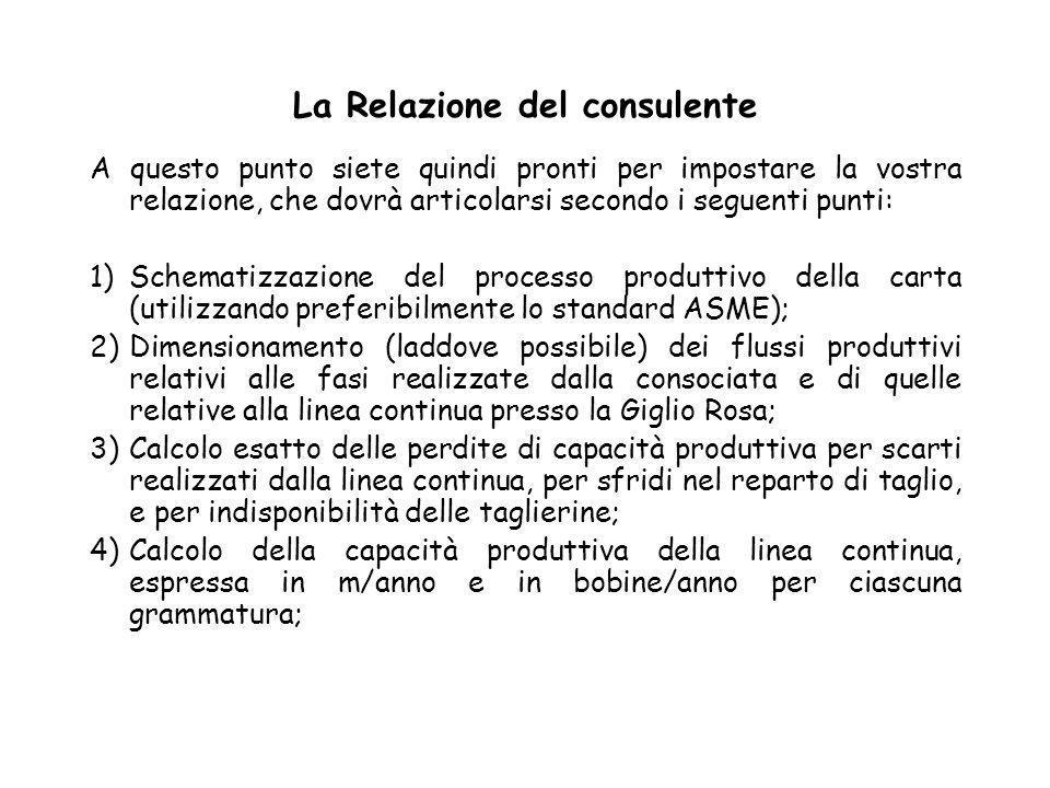 La Relazione del consulente