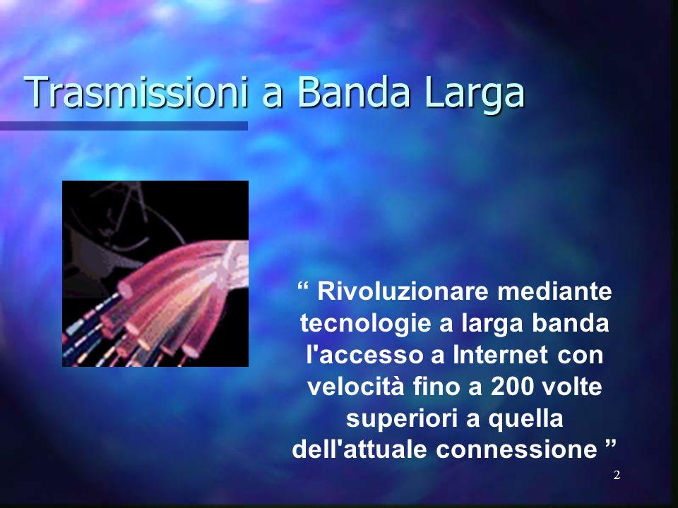 Trasmissioni a Banda Larga