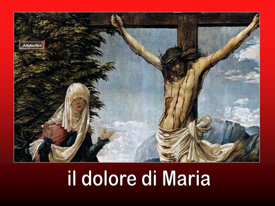 il dolore di Maria