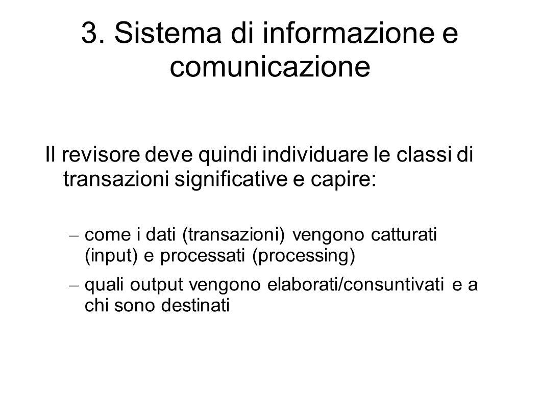 3. Sistema di informazione e comunicazione