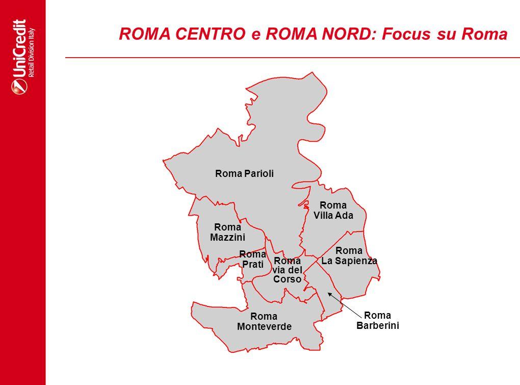 ROMA CENTRO e ROMA NORD: Focus su Roma