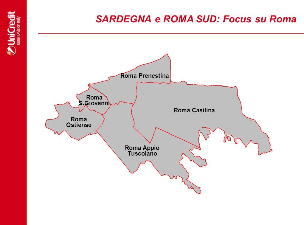 SARDEGNA e ROMA SUD: Focus su Roma