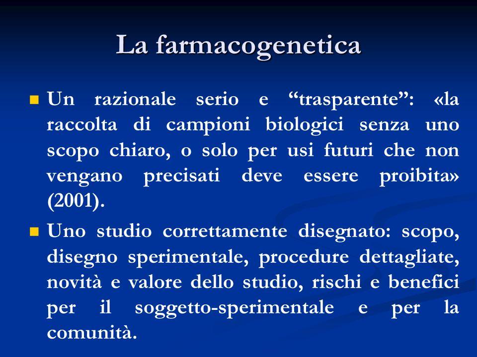 La farmacogenetica