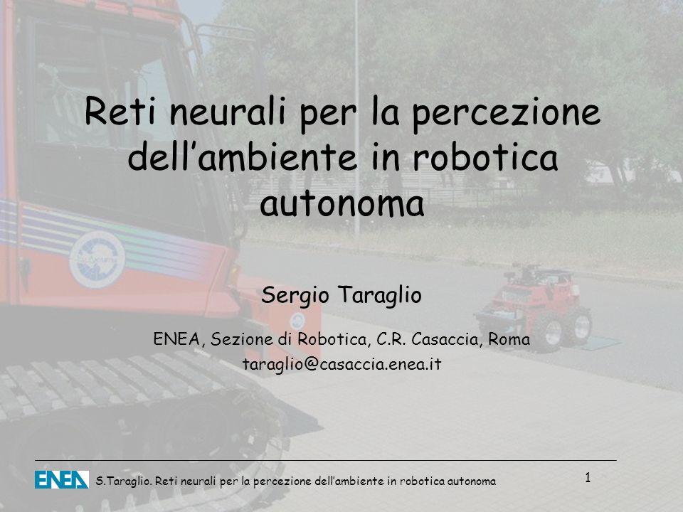 Reti neurali per la percezione dell'ambiente in robotica autonoma