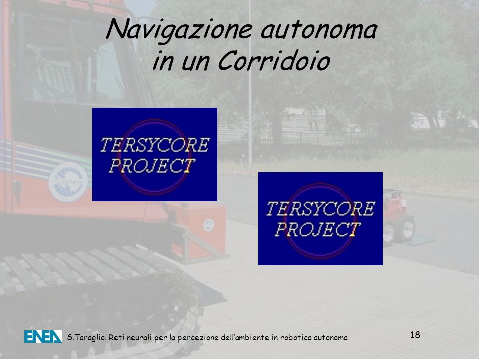 Navigazione autonoma in un Corridoio