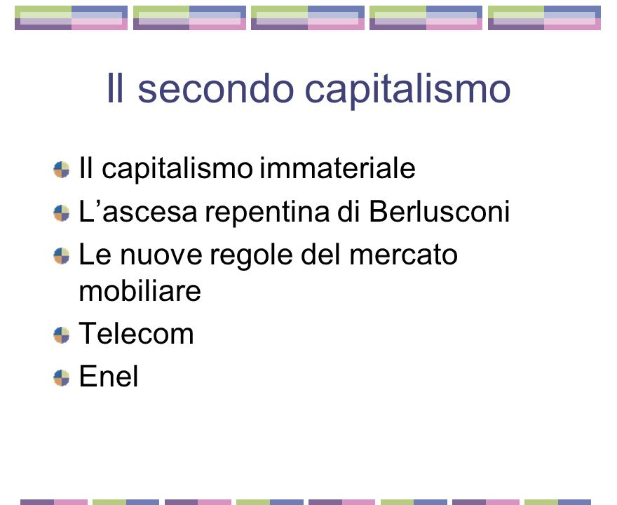 Il secondo capitalismo
