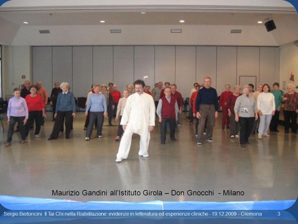 Maurizio Gandini all'Istituto Girola – Don Gnocchi - Milano