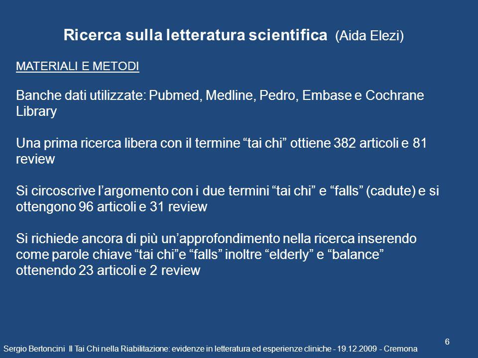 Ricerca sulla letteratura scientifica (Aida Elezi)