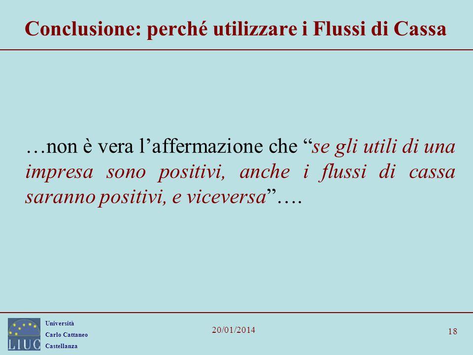 Conclusione: perché utilizzare i Flussi di Cassa