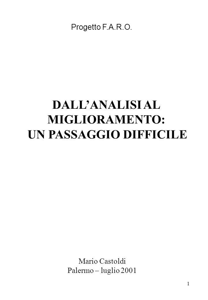 UN PASSAGGIO DIFFICILE