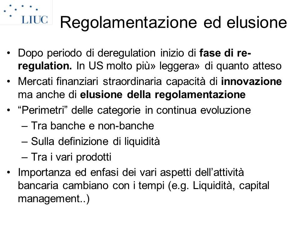 Regolamentazione ed elusione