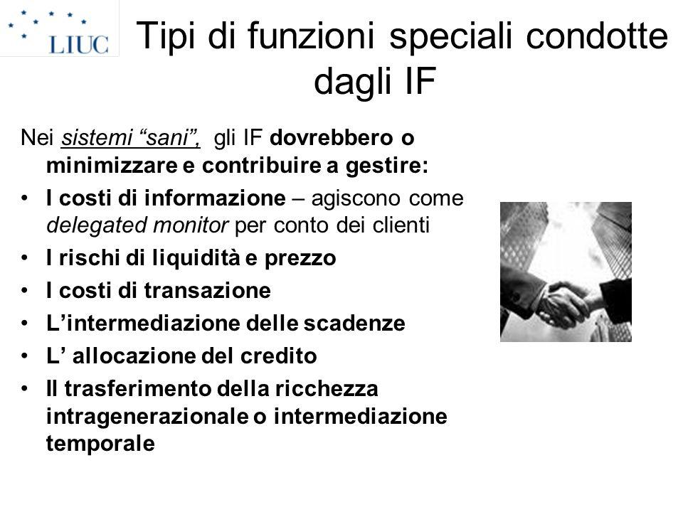 Tipi di funzioni speciali condotte dagli IF