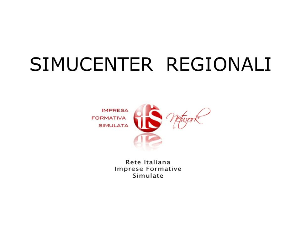 SIMUCENTER REGIONALI