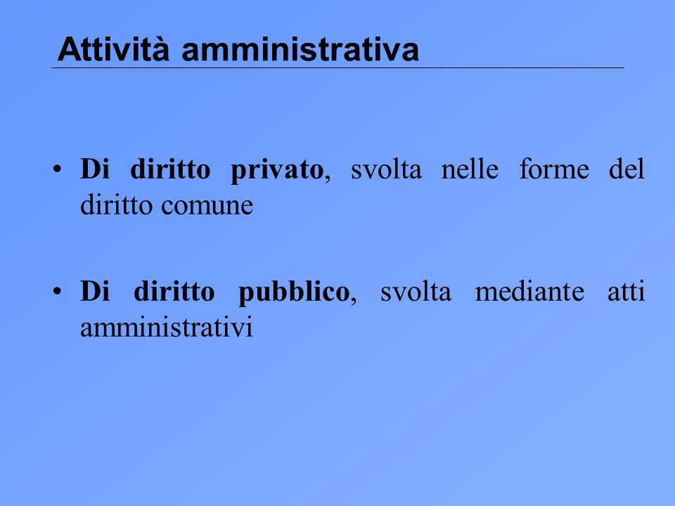 Attività amministrativa