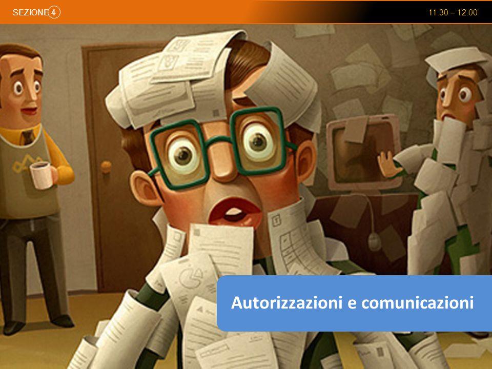 Autorizzazioni e comunicazioni